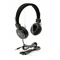 Наушники накладные с микрофоном ProLogix MH-A850M Black (MH-A850M)