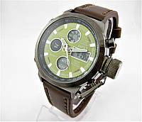 Часы военные водонепроницаемые AMST 3003 (Кварц) Black/Green. , фото 1