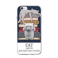 Накладка для Samsung Galaxy A510 A5 (2016) Infinity антистрес Cat Sleep