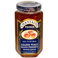 Chantaine, Пресервы люкс, золотистый персик, 11,5 унции (325 г)