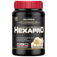 ALLMAX Nutrition, Hexapro, Ultra-Premium Protein + MCT & Coconut Oil, French Vanilla, 3 lbs (1.36 kg)