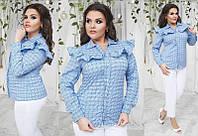 Рубашка женская 48+ турецкий коттон