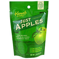 Karens Naturals, Премиум-класса, просто яблоки, 0,75 унции (21 г)