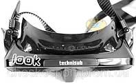 Маска для подводной охоты Technisub Look black с черным силиконом Классика!