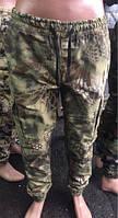 Стильные штаны КАРГО мужские на резинке Милитари