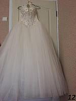 Пышное свадебное платье со стразами №12 (р.42-54)