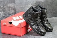 Баскетбольные кроссовки Nike Air Jordan высокие черные Вьетнам