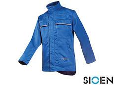 Куртка рабочая защитная синяя (защитная спецодежда рабочая) SI-EFFIAT N