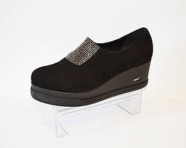 Туфли женские на танкетке Guero