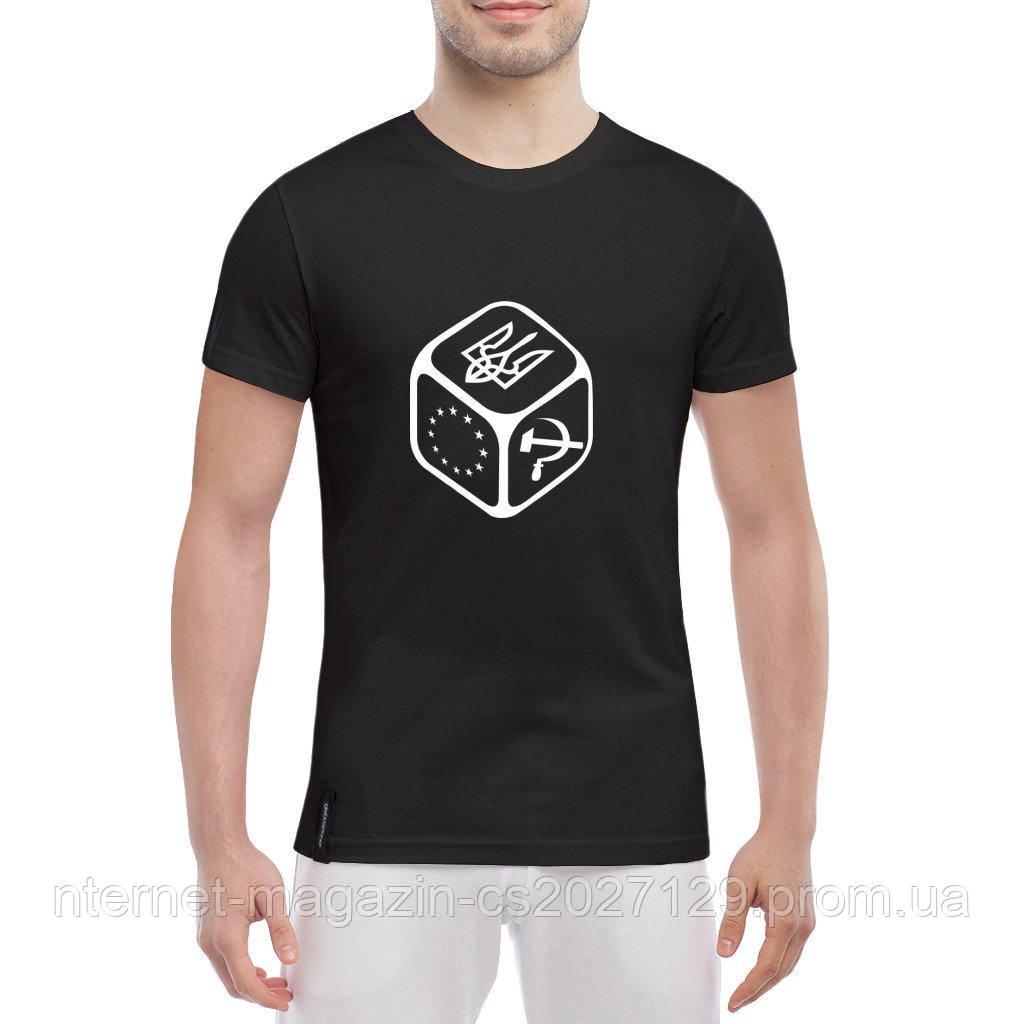 Мужская футболка с символикой Кубик Герб