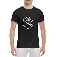 Мужская футболка с символикой Кубик Герб , фото 1
