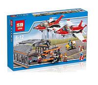 Конструктор Lepin серия Cities 02007 Авиашоу в аэропорту (аналог Lego City 60103)