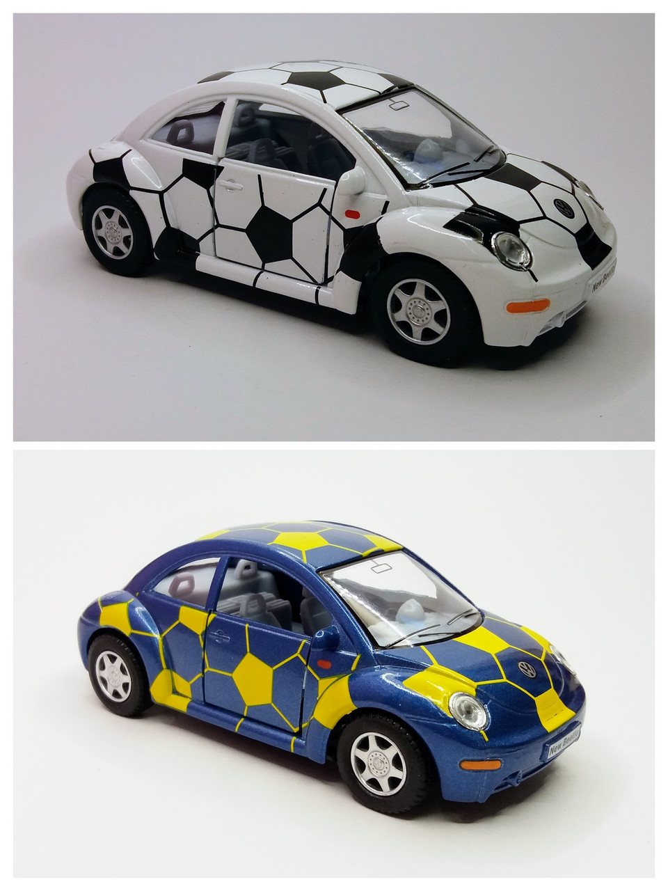 Автомобиль металлический KINSMART Volkswagen New Beetle (KT5028WR)