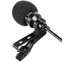 Микрофон двойной петличный проводной Tonor Lavalier Lapel Mini