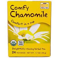 Now Foods, Comfy Chamomile, 24 Чайных Пакетика, по 2 г каждый