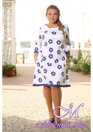 Женское нарядное платье больших размеров (р. 48-90) арт. VOGUE, фото 2