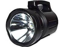 Мощный аккумуляторный светодиодный фонарь - прожектор TD 6000 15W Ручной