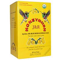 Port Trading Co., Honeybush, чай 40 чайных пакетиков, 3.53 унции (100 г)