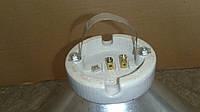 Абажур для лампы обогрева с патроном (нержавейка), фото 1