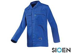 Куртка защитная рабочая утепленная синяя (зимняя спецодежда) SI-GIMONT N