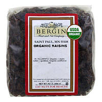 Bergin Fruit and Nut Company, Organic Raisins, 16 oz (454 g)