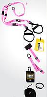 TRX Петли подвесные тренировочные PRO PACK P3 HOME P3 FI-3726-P розовый