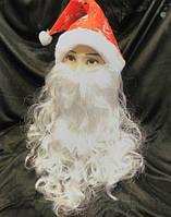 Борода Деда Мороза (Санта Клауса) 28 на 35 см
