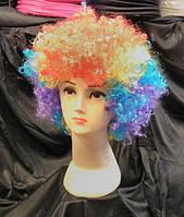 Парик Клоун разноцветный карнавальный