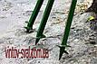 Винтовой столб 30 х 30 мм. 1000 мм., фото 7