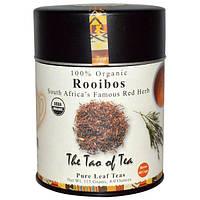 The Tao of Tea, 100% органический, знаменитый красный куст Южной Африки, ройбос, 4,0 унции (115 гр)