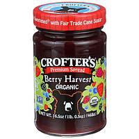 Crofters Organic, Ягодный джем высшего качества, 16.5 унций (468 г)
