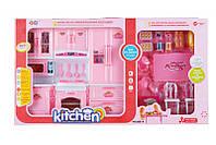 Кукольный домик для Барби - Кухня. Мебель для кукол 6881-A. Размер 60 см!