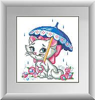 Кошка под зонтиком