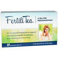 Fairhaven Health, Чай для зачатия FertiliTea для женщин, 16 чайных пакетиков, 24,8 г