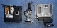Блок управления двигателем комплект ( ЭБУ )SeatAltea 1.8tfsi2004-20151P0907115AE, Bosch 0261S05739, 1P0907
