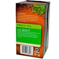 Twinings, Органический зеленый чай с мятой, 20 пакетиков, 1,27 унции (36 г)