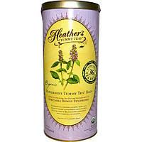 Heathers Tummy Care, Tummy Teas, органический мятный чай без кофеина в пакетиках, 36 больших пакетиков