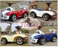 Детская машинка каталка-толокар Bugatti/Бугатти от Bambi от 1,5 лет