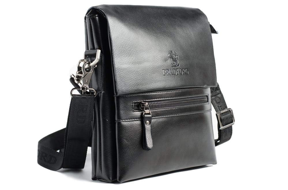 Небольшая мужская сумка Bradford 889-1 Black