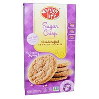 Enjoy Life Foods, Хрустящее печенье ручной работы, сахарный крисп, 6,3 унции (179 г)