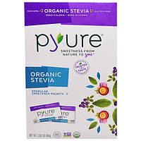 Pyure, Органическая Стевия, Подсластитель Гранулированный, 80 Пакетов, 2,82 унции (80 г)