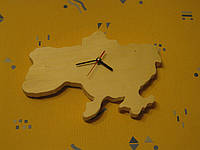 Настенные часы из дерева «Украина», фото 1