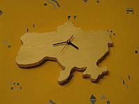 Настенные часы из дерева «Украина»