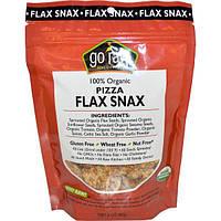 Go Raw, Органические снэки из льна, Пицца, 3 унции (85 г)