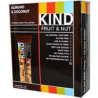 KIND Bars, Фруктово-ореховые батончики, с миндалем и кокосом, 12 батончиков по 40 г