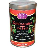 Dragon Herbs, Лимонник eeTee, гранулы растворимого чая высшего качества, 2.1 унций (60 г)
