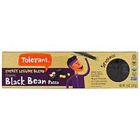 Tolerant, Органическая смесь, энергия бобовых, макаронные изделия из черных бобов, спагетти, 8 унций (227 г)