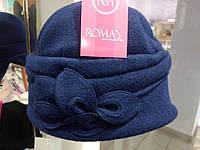 Красивая женская шляпка синяя MONIC