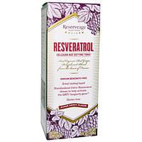 ReserveAge Nutrition, Ресвератрол, омолаживающий тоник для клеток, с суперягодным вкусом, 5 жидких унций (148 мл)