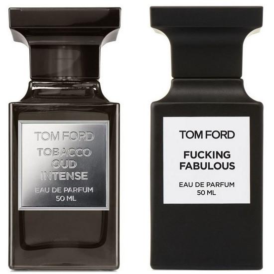 Tobacco Oud Intense и Fucking Fabulous от Tom Ford
